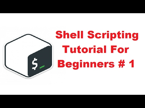 Shell Scripting Tutorial for Beginners 1 - Introduction - YouTube