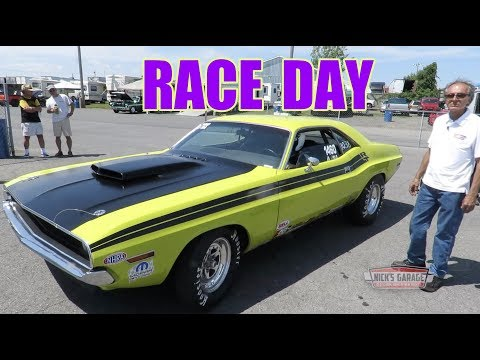 426 Hemi Challenger 1/4 Mile Drag Car - Racing A Classic