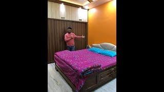 Bedroom Makeover  2019 | 12' X 10' Bedroom Design Video In Hindi.
