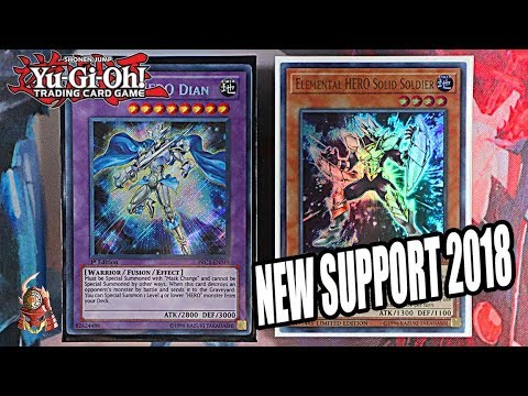 Yu-Gi-Oh! BEST! NEW MASKED HERO DECK PROFILE! FT. SOLID SOLDIER! + 1 CARD COMBO! (SEPTEMBER 2018)