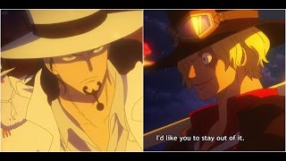 Rob Lucci Vs Sabo One Piece Gold Full Fight Full Movie Eng Sub 720p