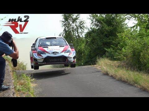 Kris Meeke Toyota Yaris WRC Rallye Deutschland 2019 Test