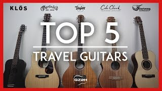 TOP 5 TRAVEL GUITARS (2018) - SOUND COMPARISON OF BEST ACOUSTIC MINIS