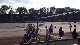 preview picture of video 'Landshut  Speedway-Stadion Ellermühle Lauf 0 fehl start'