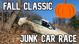We had an off-road junk car race for THE GLORY!