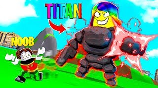I got the STRONGEST TITAN and TOOK OVER THE GAME.. (Roblox)