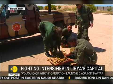 Libya: UN-backed forces launch counter attack in Tripoli in response to Libyan army