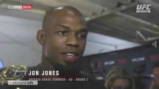 UFC 214 закулисное интервью Джона Джонса