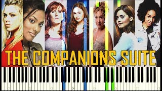 The Companions Suite (All Companion Themes By Murray Gold) - Doctor Who [Synthesia Piano Tutorial]
