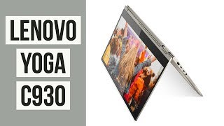 Lenovo Yoga C930 First Look | IFA 2018
