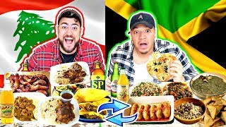 LEBANESE & JAMAICAN SWAP LUNCH FOODS