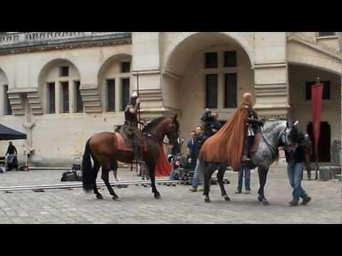 Filming Day 1 on the set of Merlin Season 5 in Pierrefonds