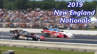 2019 NHRA New England Nationals Top Fuel, Funny Car Eliminations, Walking In The Pits