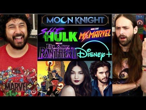 D23 MARVEL ANNOUNCEMENTS!!! (Disney+ Series, Kit Harington, Black Panther 2, etc...)
