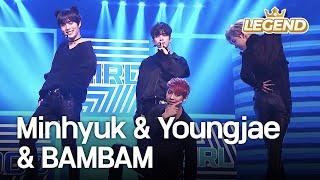 Minhyuk(BTOB,MONSTA X) & Youngjae & BAMBAM - Bad Girl Good Girl 2016 KBS Song Festival/2017.01.01]