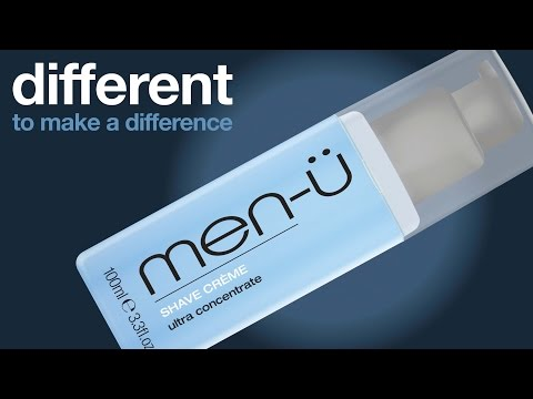 men-ü different to make a difference - SHAVE CRÈME