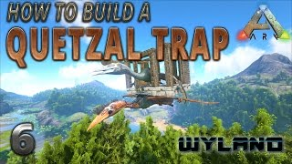 Ark survival evolved tapejara solo tame tapejara trap ark survival evolved how to build a quetzal trap malvernweather Image collections