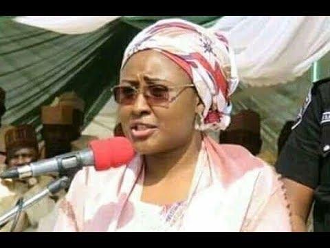 Aisha buhari's speech on 2019 capainge. In kano