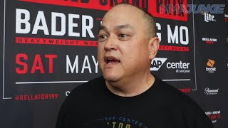 Scott Coker discusses his interest in new free agent Yair Rodriguez