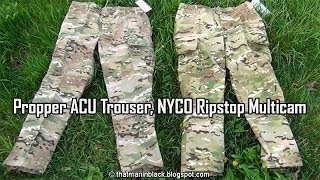Propper ACU Trouser, NYCO Ripstop Multicam Pants
