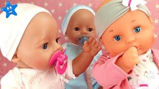 ¡¡¡NUEVO BEBÉ!!! Tira el chupete y Bruno y Abril le enseñan a llevarlo Nenuco Famosa