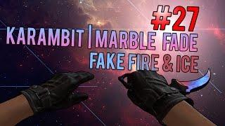 karambit marble fade fake fire and ice - मुफ्त
