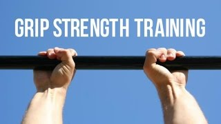 Grip strength training by Corey Hall