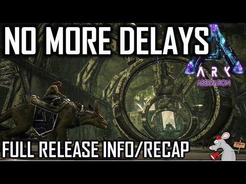 ARK ABERRATION WHEN CAN YOU PLAY! PLUS FULL RECAP ON WHAT WE KNOW!