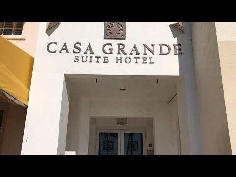 Casa Grande Suite Hotel on Ocean Drive, South Beach – Room View, Review