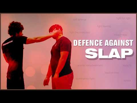 Self Defence Techniques - How to Prevent Slap Attack | Training | Class | women