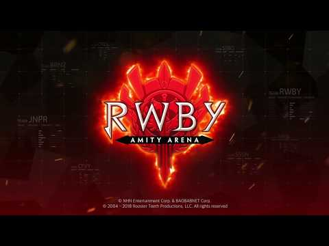 Vídeo do RWBY: Amity Arena