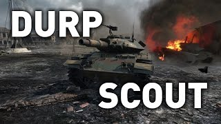 World of Tanks || T49 DURP SCOUT