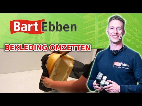 Citroen Peugeot autostoel zitkussen bekleding omzetten op tweedehands zitting