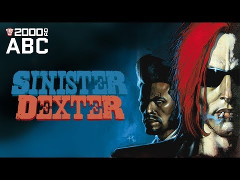 The 2000 AD ABC #82: Sinister Dexter