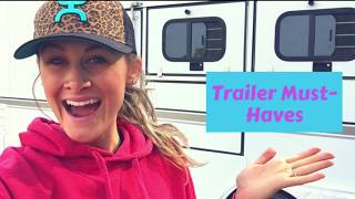 Horse Trailer Must Haves
