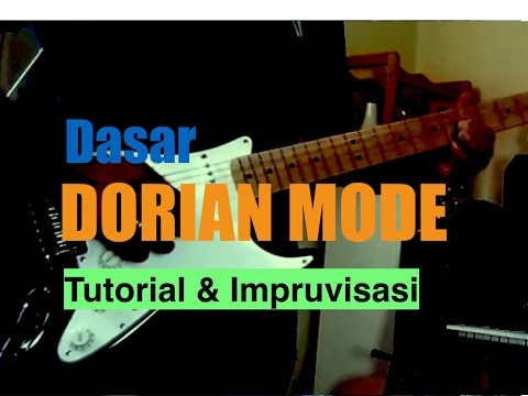 10.2 Dasar Dorian Modes Impruvisasi + Tutorial + Backing Track Mp3