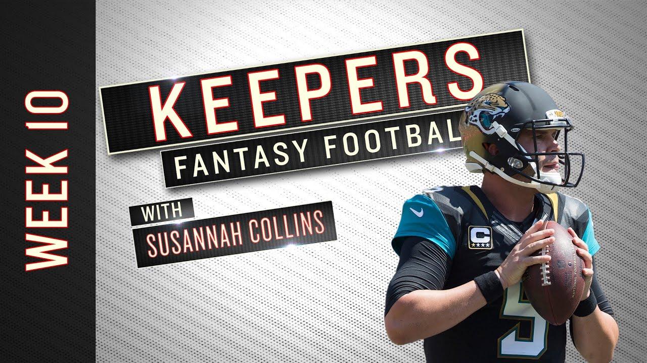 NFL Week 10 starts, sits and fantasy football advice thumbnail