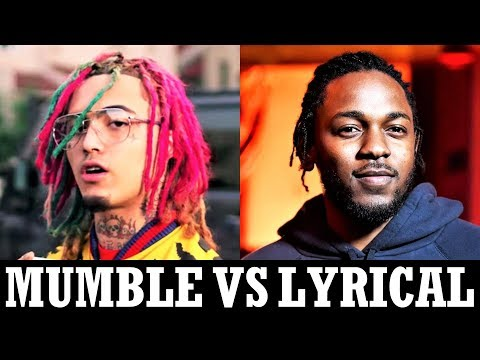 Mumble Rappers Vs. Lyrical Rappers