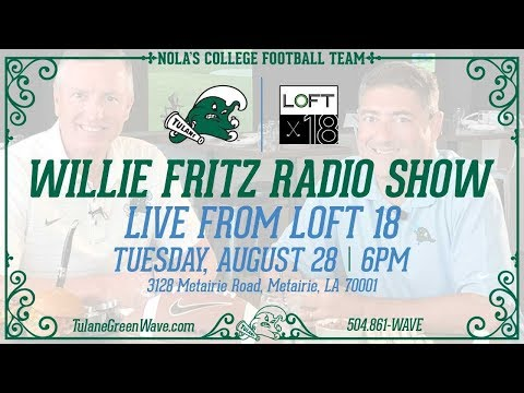 Tulane Football Introduces The Willie Fritz Radio Show, presented by Dos Equis
