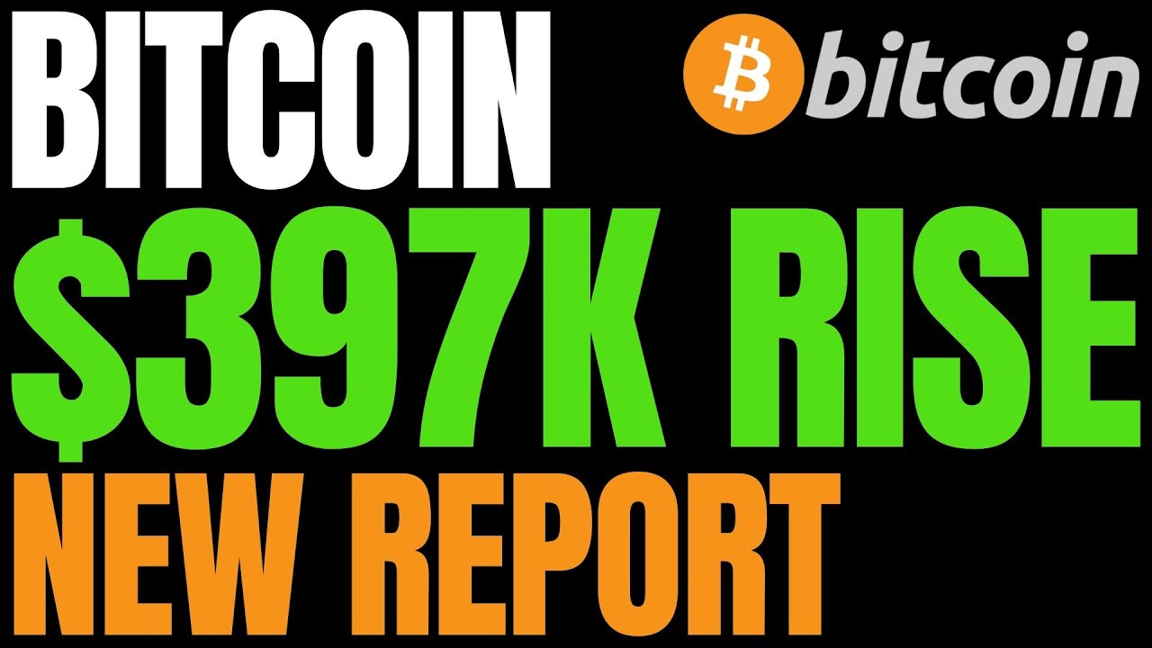Sweeping Crypto Report Predicts Bitcoin Rise to $397,000 | BTC Roaring Toward Exponential Bull Run #Bitcoin #BTC