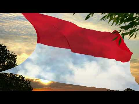 Flag And Anthem Of Indonesia