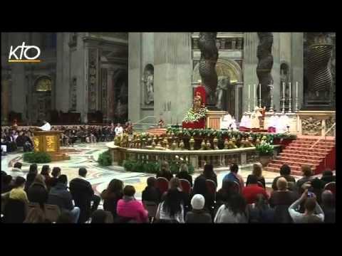 Rencontre du pape François avec les catéchumènes