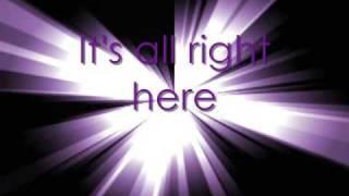 It's all right here- Hannah Montana (with on sreen lyrics)