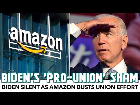 Biden Silent As Amazon Busts Union Effort
