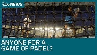Fancy a game of Padel? The world's fastest growing sport | ITV News