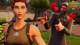 JOHN WICK FALLS IN LOVE WITH A NOOB!!! - Fortnite Short Film
