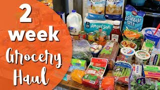 $100 Grocery Haul for Family of 4   Aldi Haul & Family Meal Plan