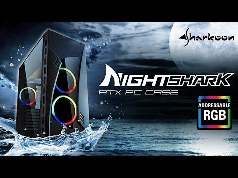 Sharkoon Night Shark RGB (Midi Tower)