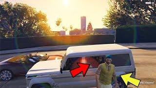 Hiding in the SAME CAR | Hide and Seek in GTA 5 Online