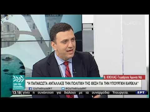 Ο Βασίλης Κικίλιας για όλα και για τη Δημόσια Τηλεόραση | 11/02/19 | ΕΡΤ